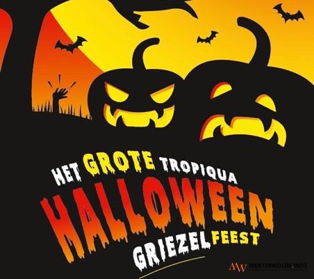 31 Oktober Halloween Feest.Veendammer Zwembad Tropiqua Verandert In Decor Voor